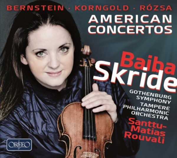 American Concertos: Bernstein, Korngold, Rozsa | Orfeo C932182A
