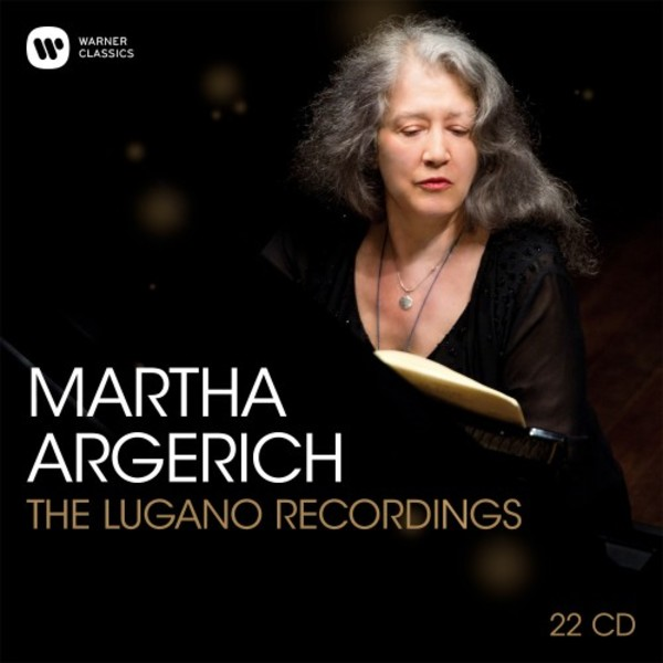 Martha Argerich: The Lugano Recordings | Warner 9029594897