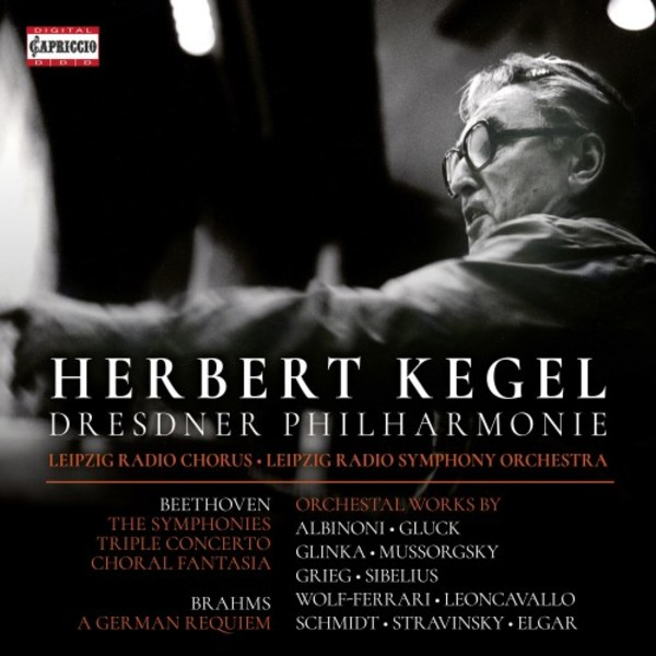 Herbert Kegel conducts Beethoven Symphonies & Other Works