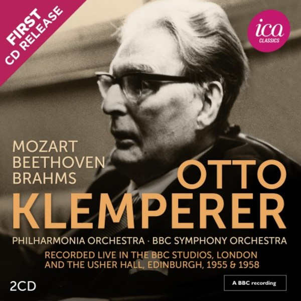 Klemperer conducts Mozart, Beethoven & Brahms