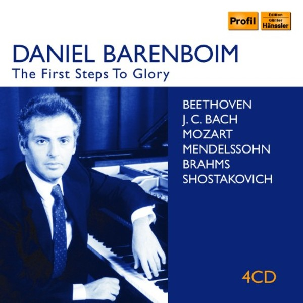 Daniel Barenboim: The First Steps to Glory | Profil PH18038