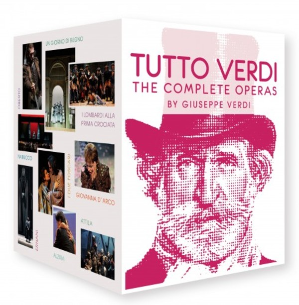 Tutto Verdi: The Complete Operas (Blu-ray)