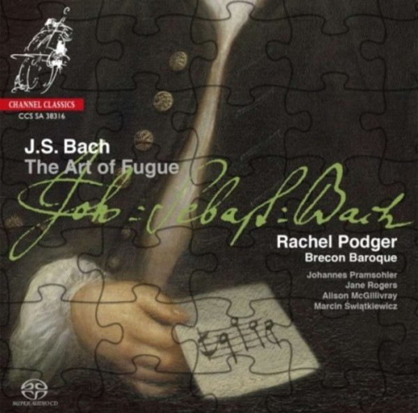 JS Bach - The Art of Fugue | Channel Classics CCSSA38316
