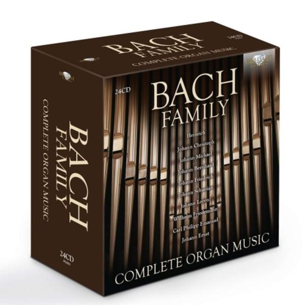 Risultati immagini per Bach Family: Complete Organ Music