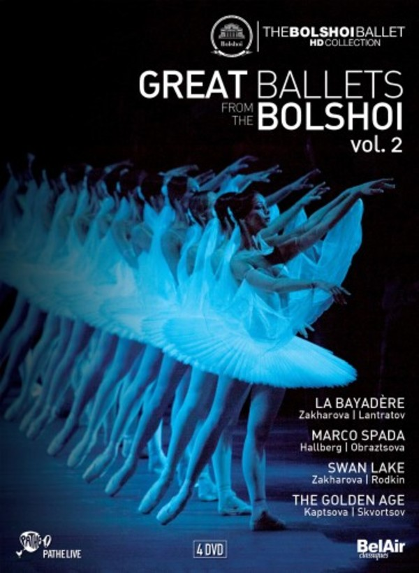 Great Ballets from the Bolshoi Vol.2 (DVD)