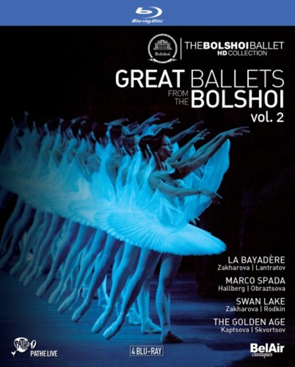 Great Ballets from the Bolshoi Vol.2 (Blu-ray)