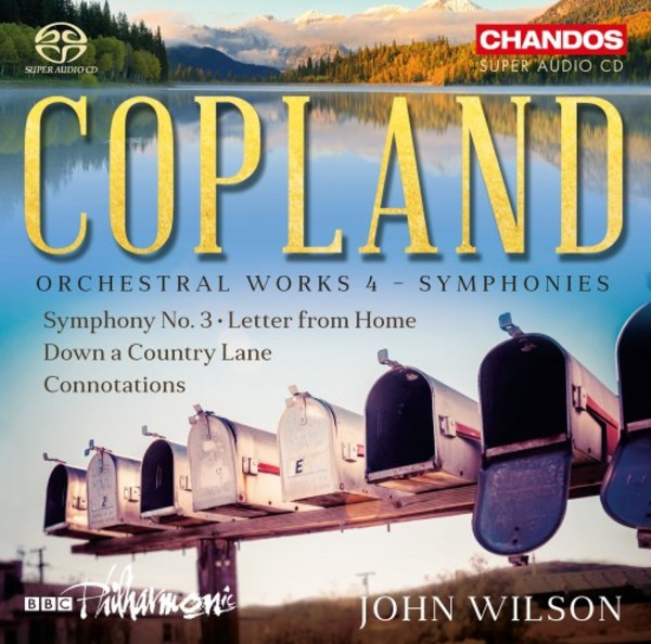Copland - Orchestral Works Vol.4