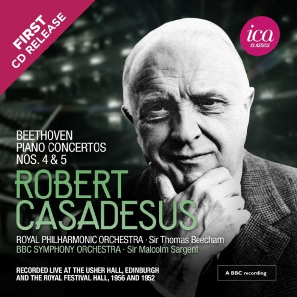Casadesus plays Beethoven - Piano Concertos 4 & 5