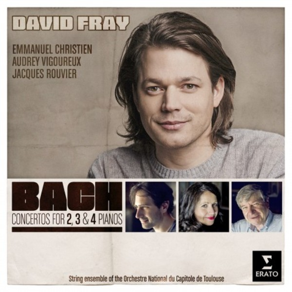 Bach - Concertos for 2, 3 & 4 Pianos