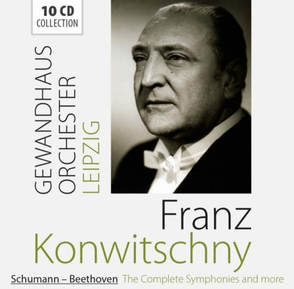 Franz Konwitschny conducts Schumann & Beethoven - Complete Symphonies
