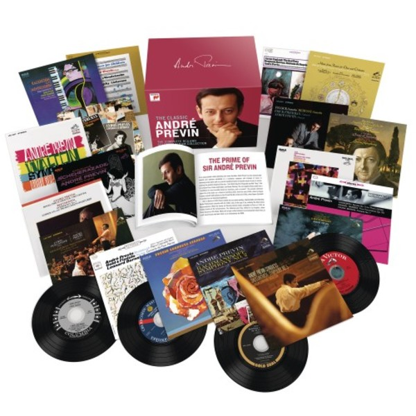 The Classic Andre Previn: The Complete RCA and Columbia Album Collection | Sony 19075831672
