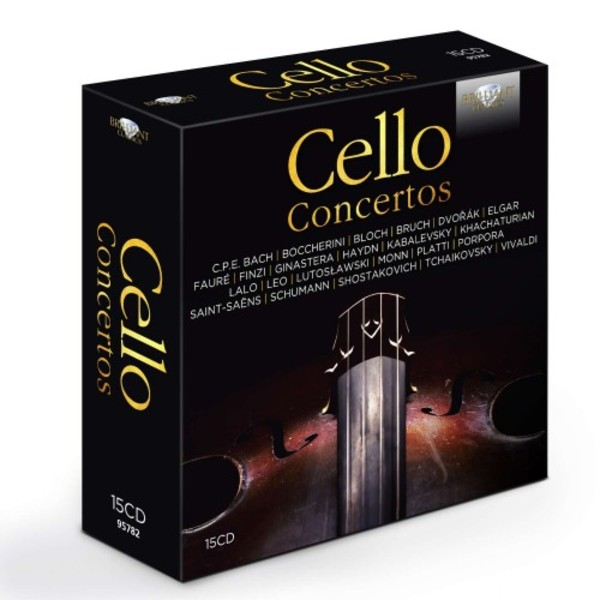 Cello Concertos | Brilliant Classics 95782