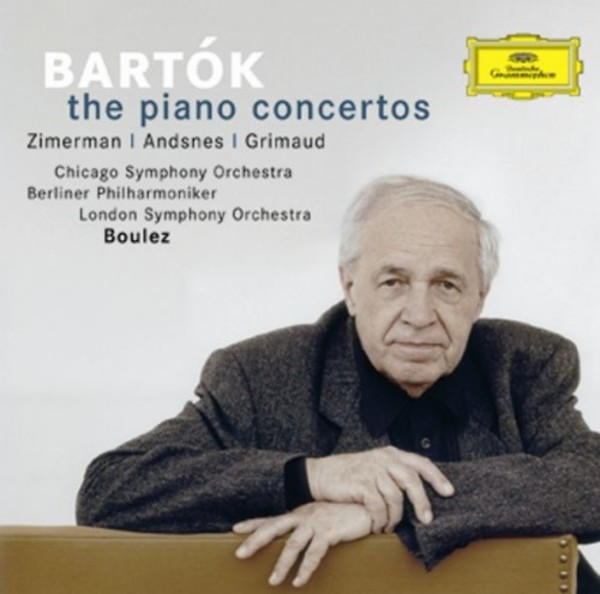 Bartok - The Piano Concertos | Deutsche Grammophon 4775330