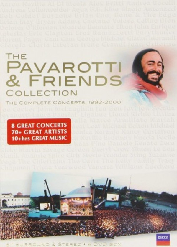 The Pavarotti & Friends Collection: The Complete Concerts 1992-2000 (DVD) | Decca 0741609