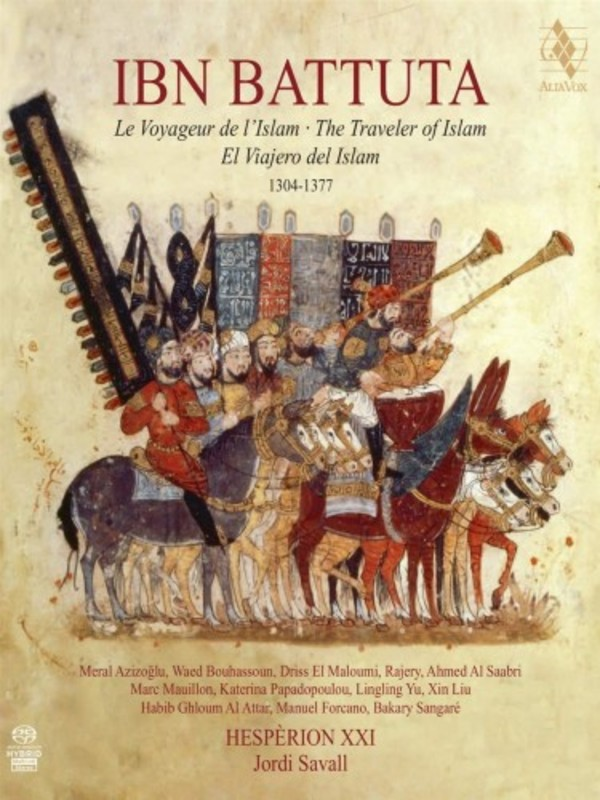 Ibn Battuta: The Traveller of Islam (1304-1377) (SACD + Book)