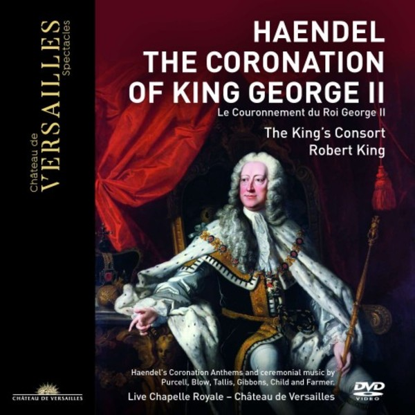 Handel - The Coronation of King George II (DVD)