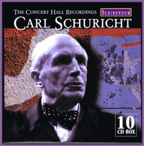 Carl Schuricht: The Concert Hall Recordings