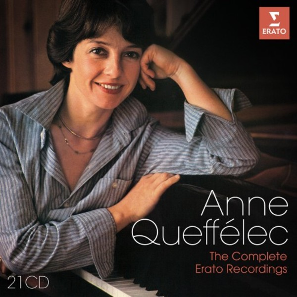 Anne Queffelec: The Complete Erato Recordings | Erato 9029554278