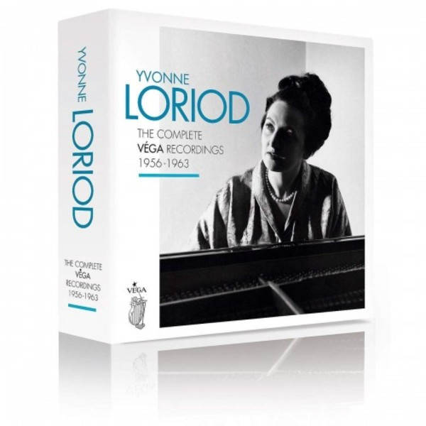 Yvonne Loriod: The Complete Vega Recordings 1956-1963