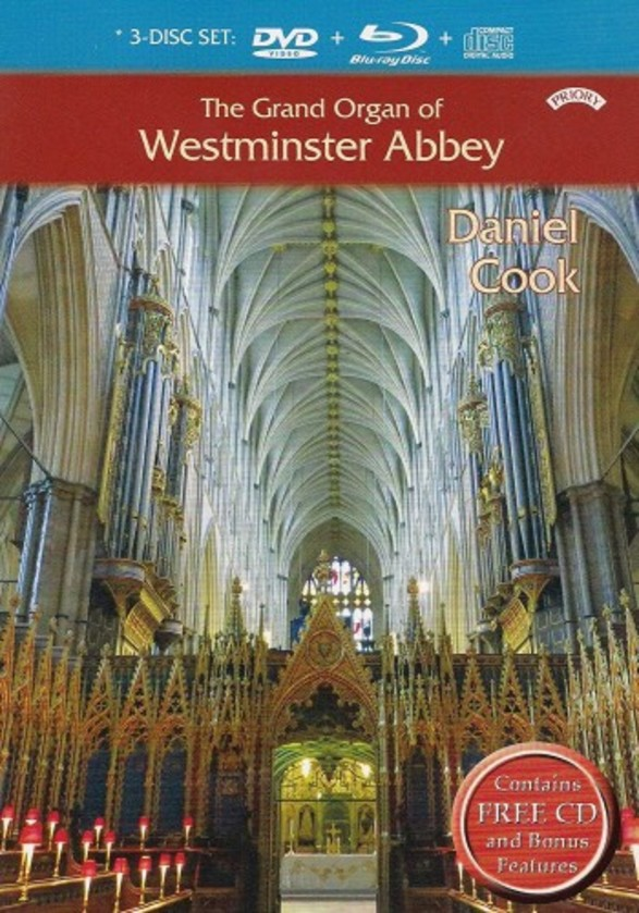 The Grand Organ of Westminster Abbey (Blu-ray + DVD + CD)