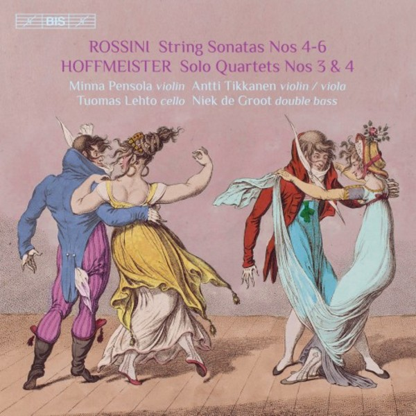 Rossini & Hoffmeister - Quartets with Double Bass Vol.2