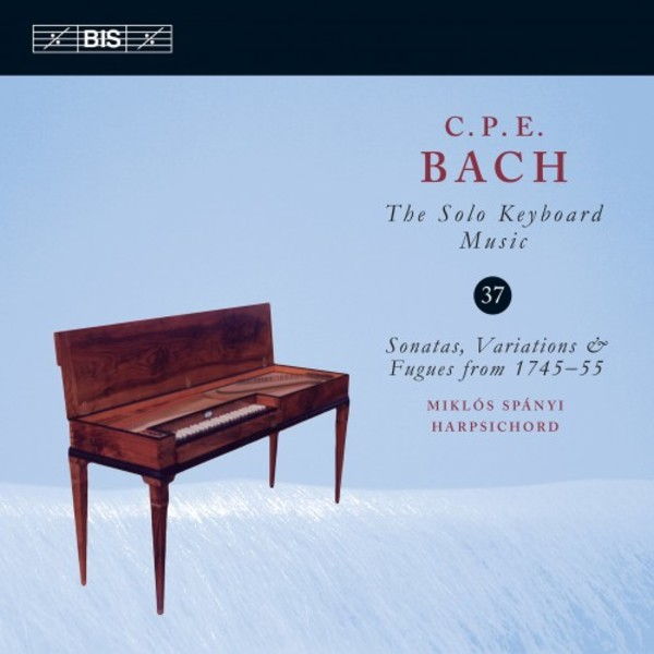 CPE Bach - Solo Keyboard Music Vol.37