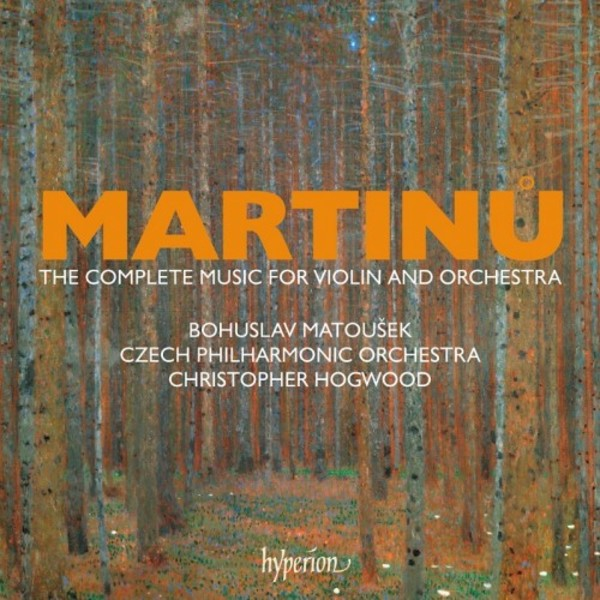Martinu - Complete Music for Violin and Orchestra
