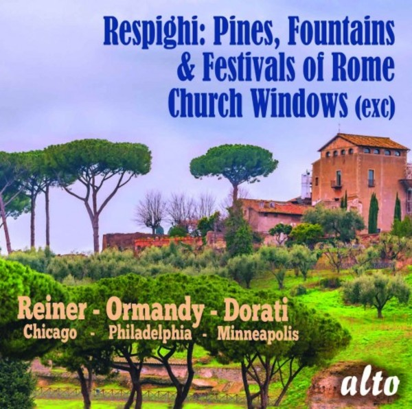 Respighi - Pines, Fountains & Festivals of Rome, Church Windows
