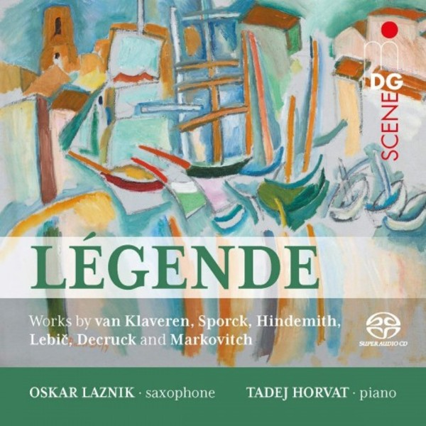 Legende: Works for Alto Saxophone & Piano
