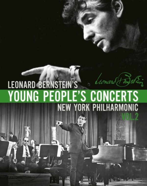 Leonard Bernstein�s Young People�s Concerts Vol.2 (Blu-ray)