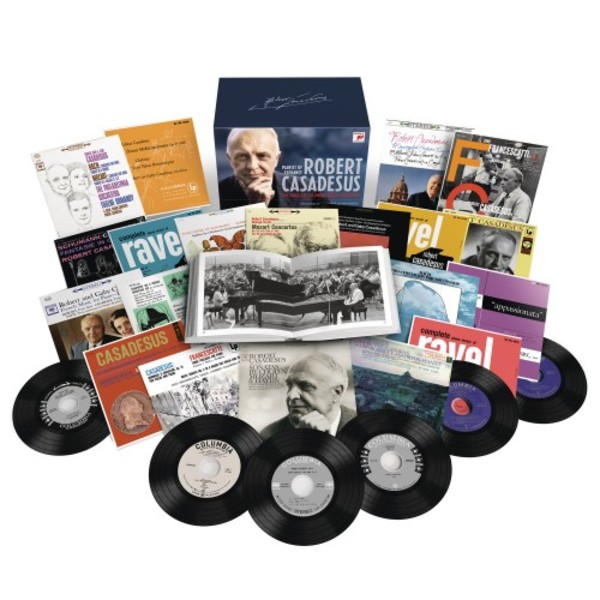 Robert Casadesus: The Complete Columbia Album Collection | Sony 19075853652