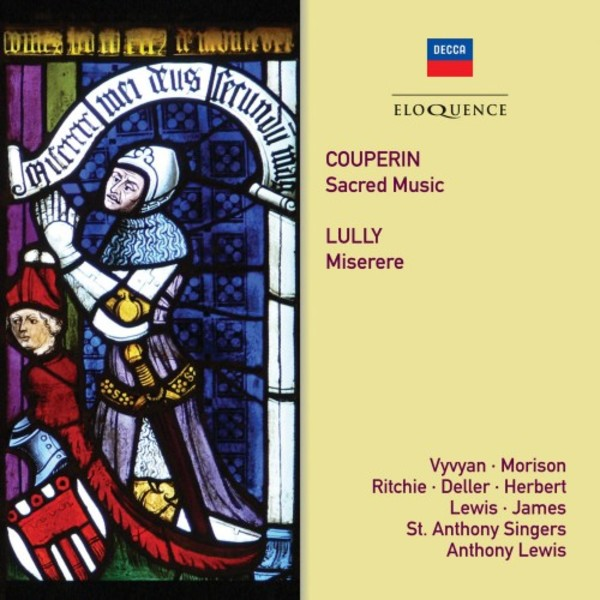 F Couperin - Sacred Music; Lully - Miserere