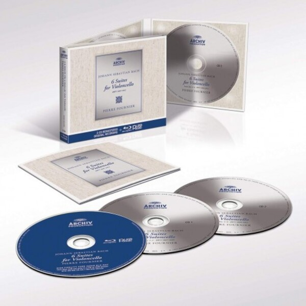 JS Bach - Cello Suites (CD + Blu-ray Audio)