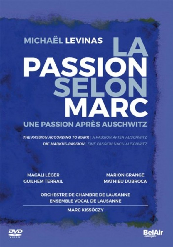 Levinas - The Passion According to Mark: A Passion after Auschwitz (DVD)