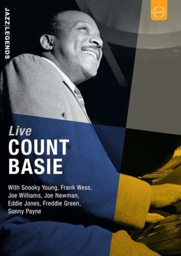 Jazz Legends: Count Basie Live (DVD)