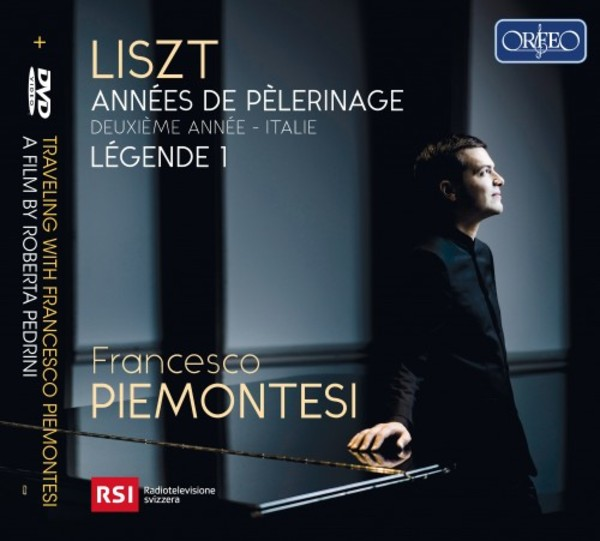 Liszt - Annees de pelerinage: 2nd Year (Italy), Legende 1 (CD + DVD)