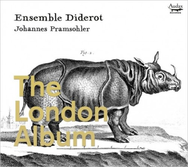 Ensemble Diderot: The London Album | Audax ADX13718