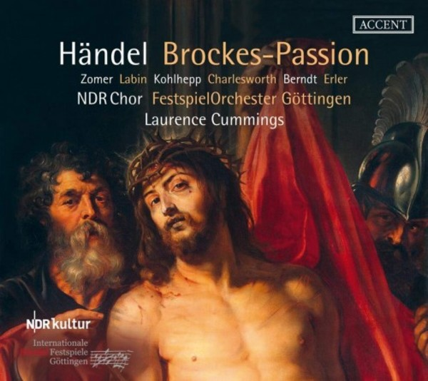 Handel - Brockes-Passion | Accent ACC26411
