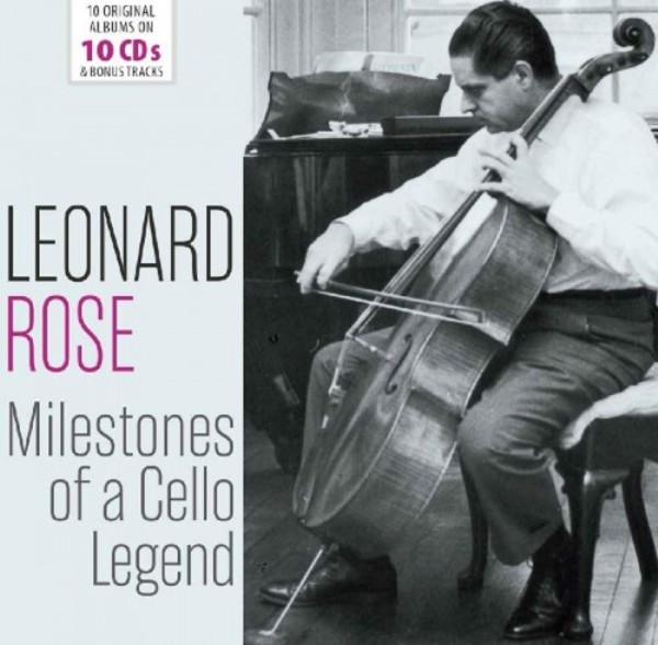 Leonard Rose: Milestones of a Cello Legend | Documents 600510