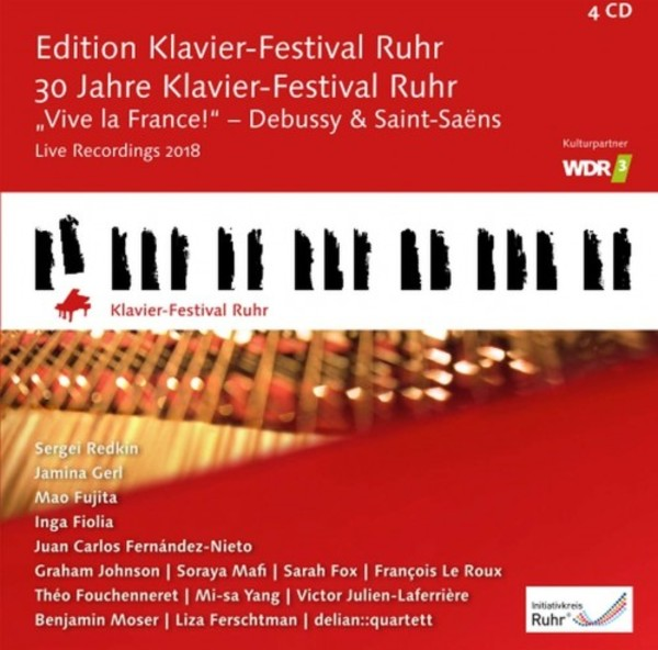 30 Years of the Klavier-Festival Ruhr: Vive la France | C-AVI AVI8553465