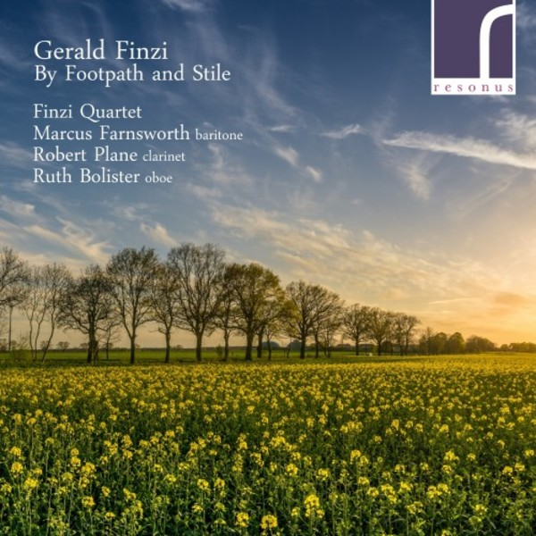 Finzi - By Footpath and Stile and Other Chamber Works | Resonus Classics RES10109