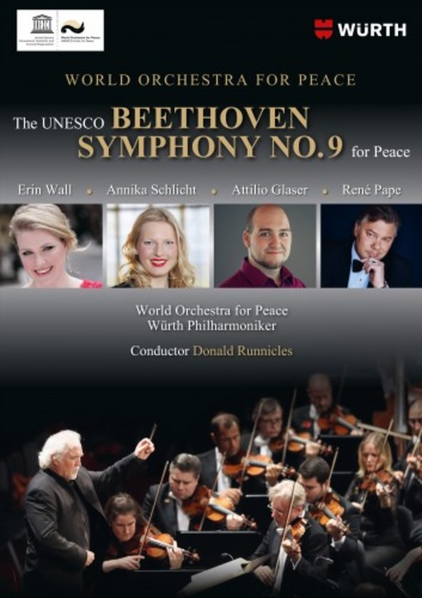 The UNESCO Beethoven Symphony No.9 for Peace (DVD) | C Major Entertainment 749508