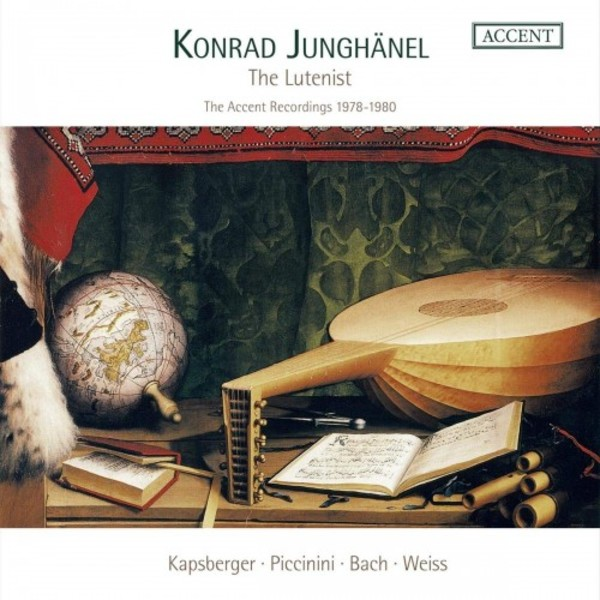 Konrad Junghanel: The Lutenist - The Accent Recordings, 1978-1980