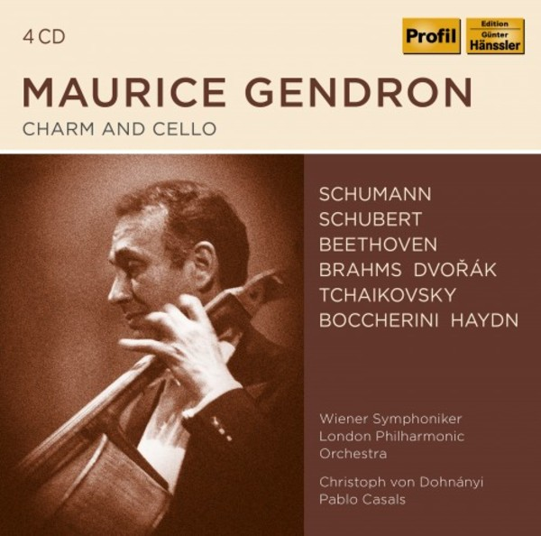 Maurice Gendron: Charm and Cello
