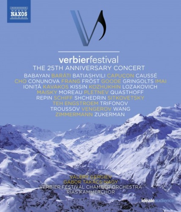 Verbier Festival: The 25th Anniversary Concert (Blu-ray)