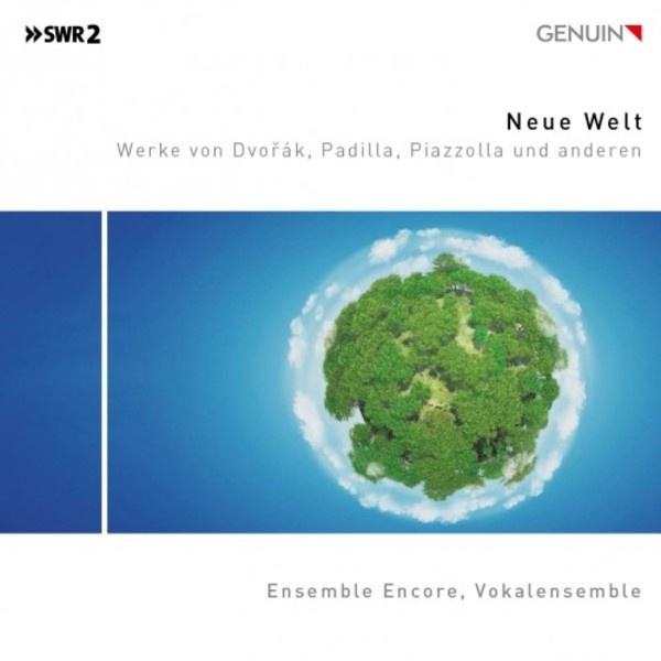 New World: Works by Dvorak, Padilla, Piazzolla and others | Genuin GEN19670