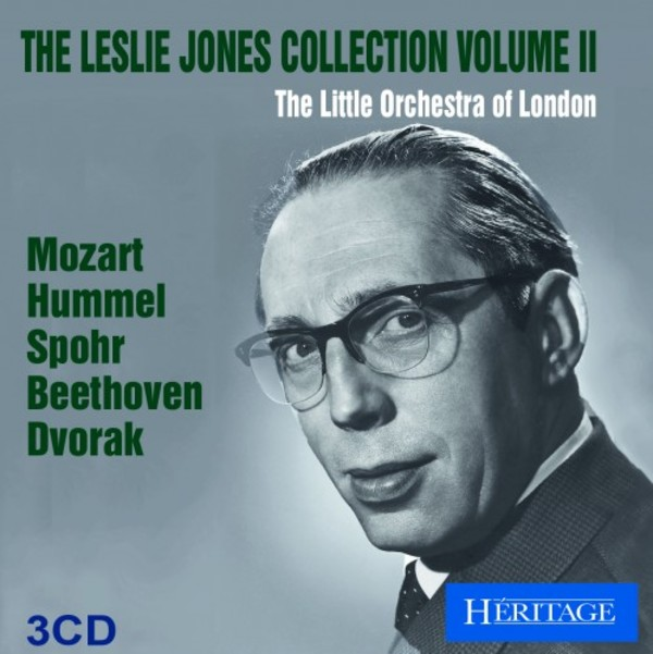 The Leslie Jones Collection Vol.2: Mozart, Hummel, Spohr, Beethoven, Dvorak