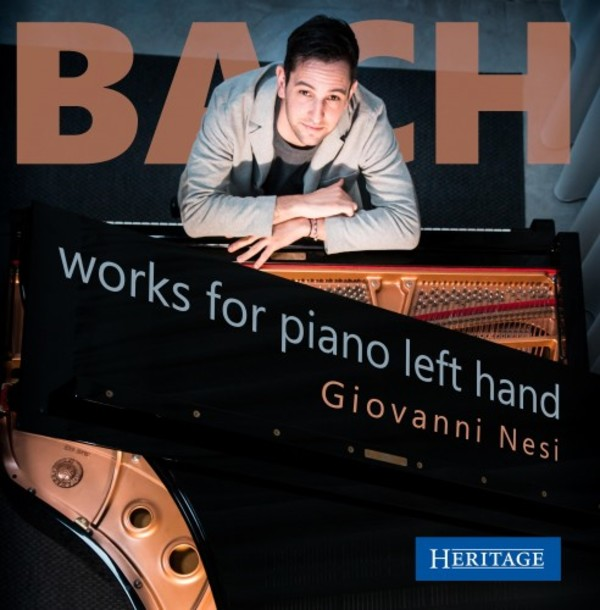 JS Bach - Works for Piano Left Hand