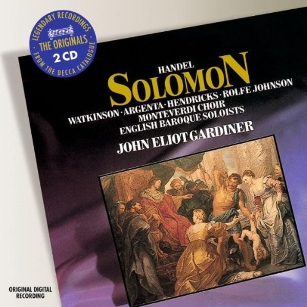 Handel: Solomon | Philips - Originals 4757561