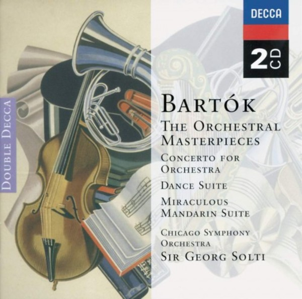 Bartok - The Great Masterpieces | Decca - Double Decca 4705162